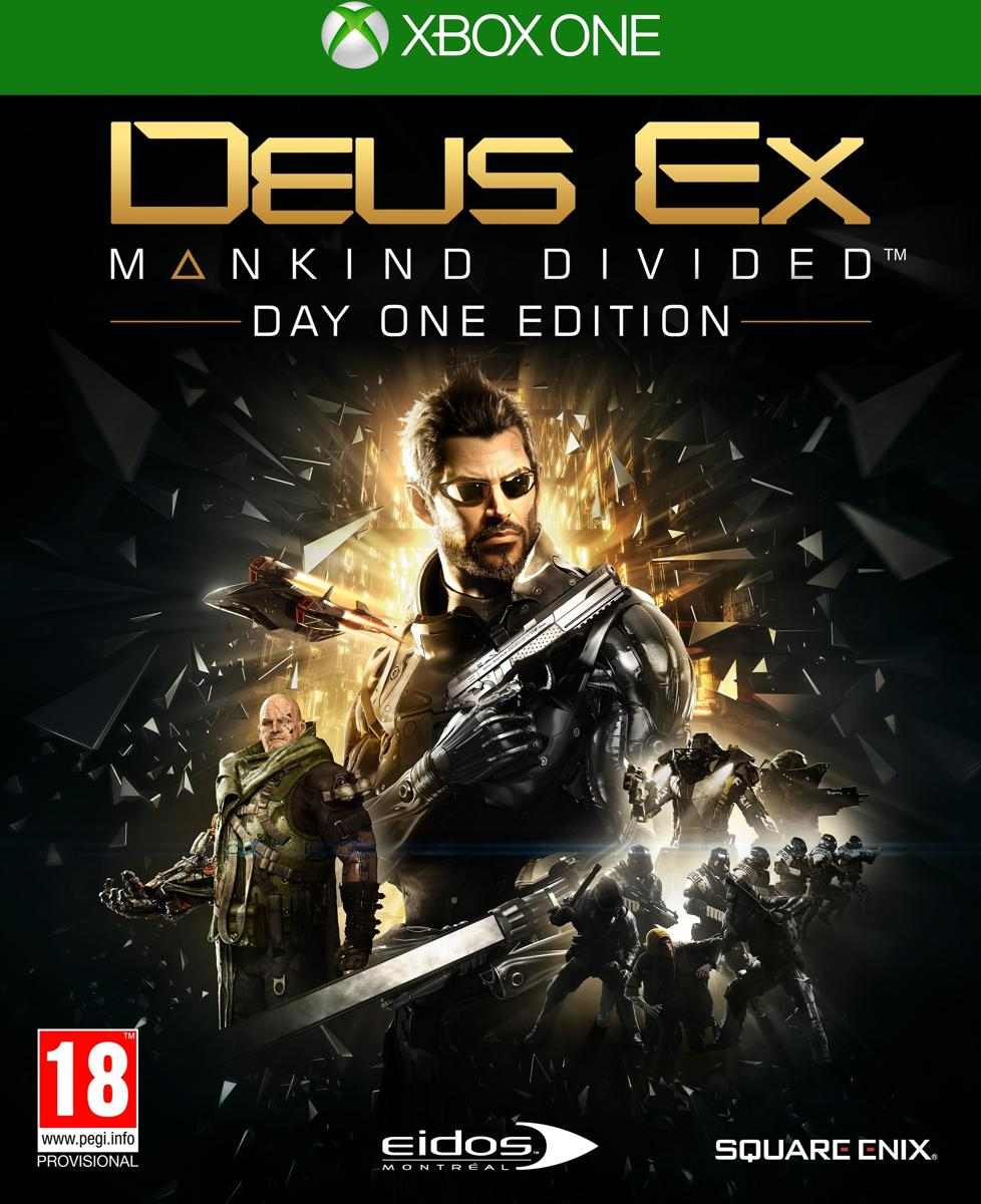 Deus Ex: Mankind Divided - Day One Edition Xbox One