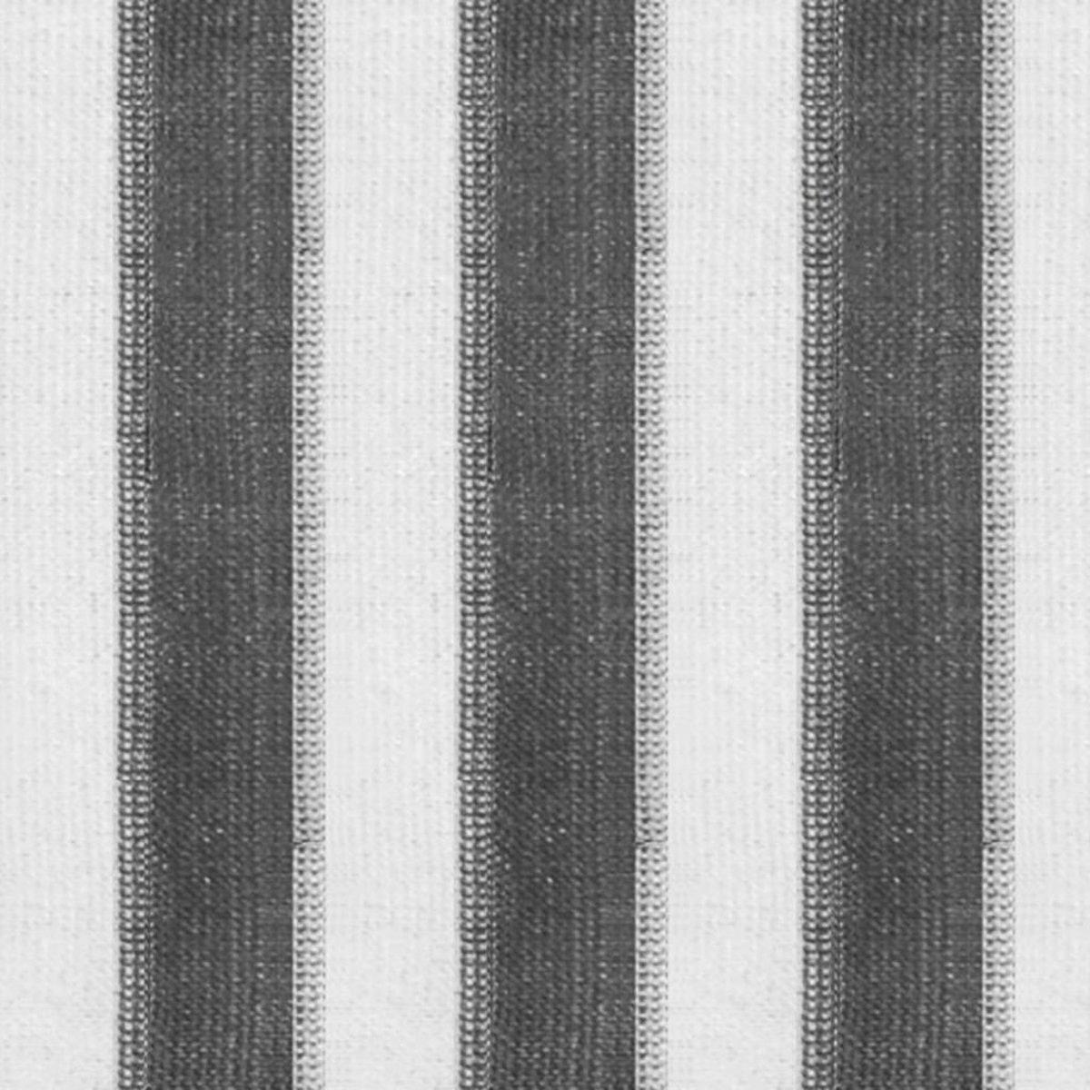 Rolgordijn voor buiten 400x140 cm antraciet en wit gestreept kopen