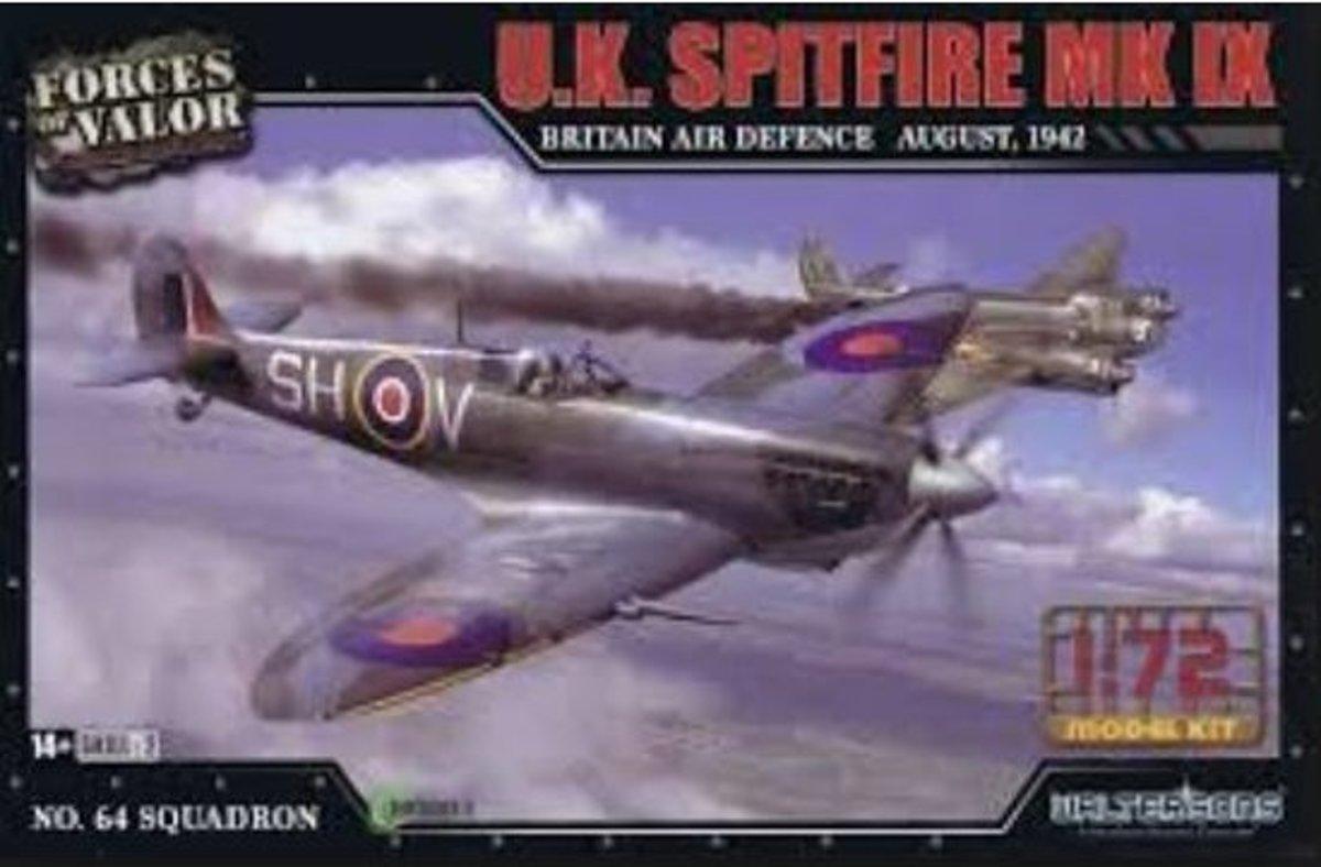Forcesofvalor - Spitfire Mk Ix U.k. Britain Air Defence 1942 1:72