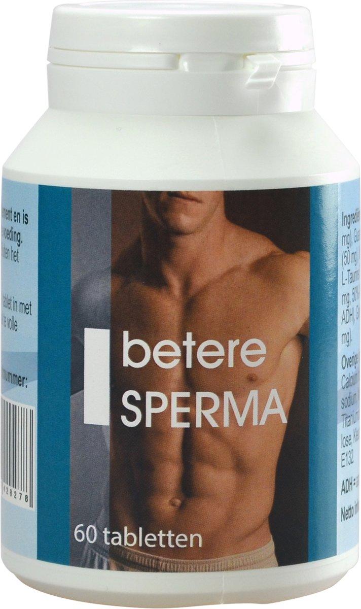 Foto van Betere Sperma - 60 stuks - Stimulerend Middel