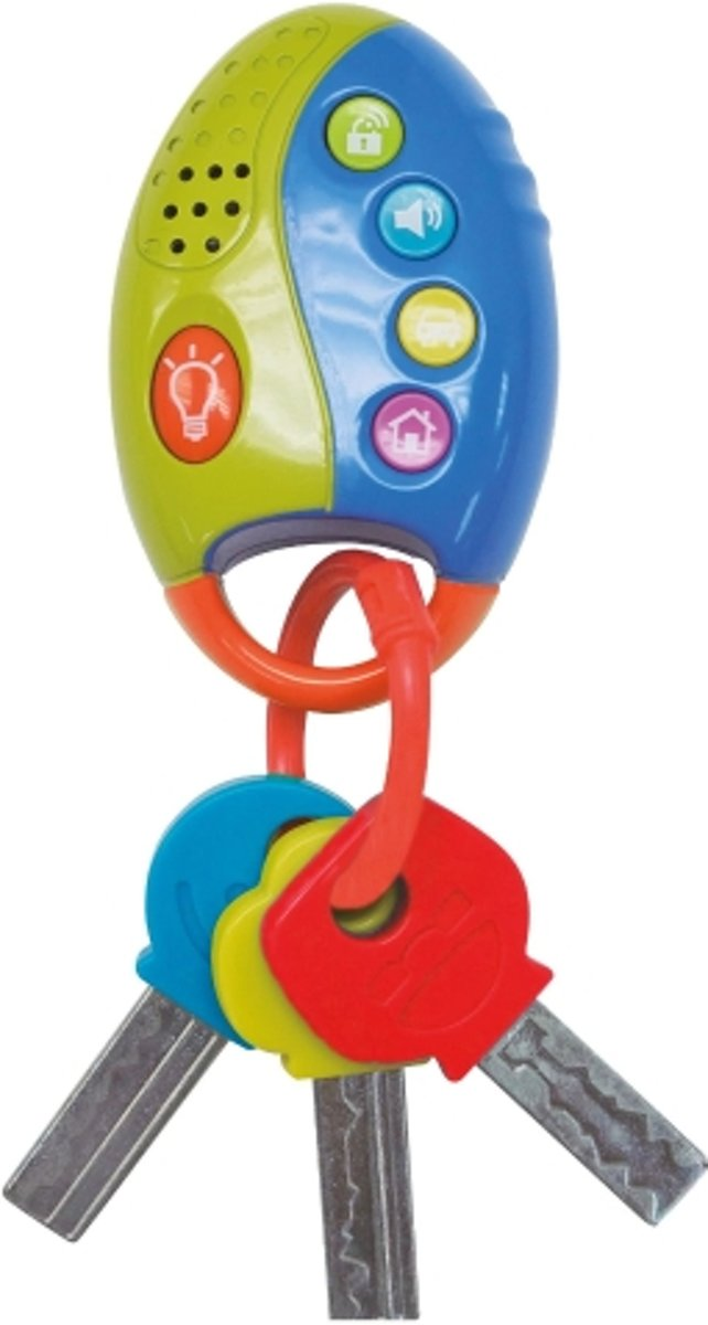 Sleutelbos voor Kinderen - Imaginarium - Speelgoed Autosleutels met Lichtje en Geluid - Baby
