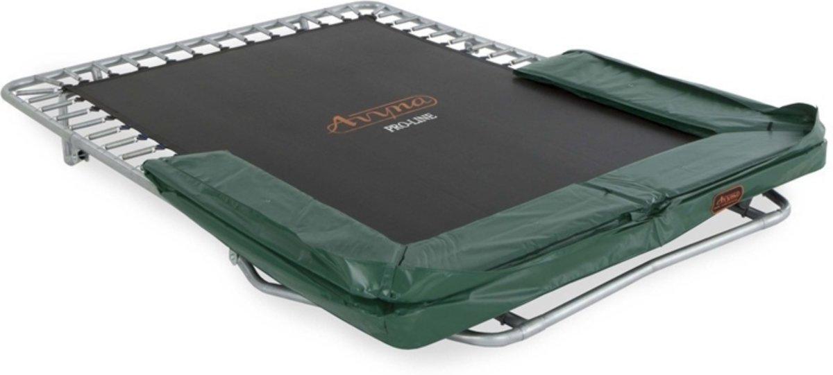 Avyna PRO-LINE inklapbare trampoline 275x190 cm Groen- Gratis Afdekhoes