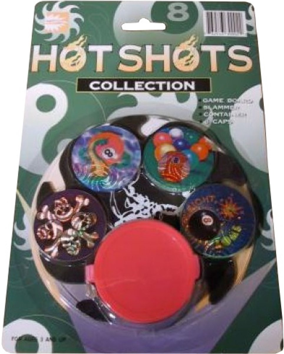 Hot toys Hot shots caps collection