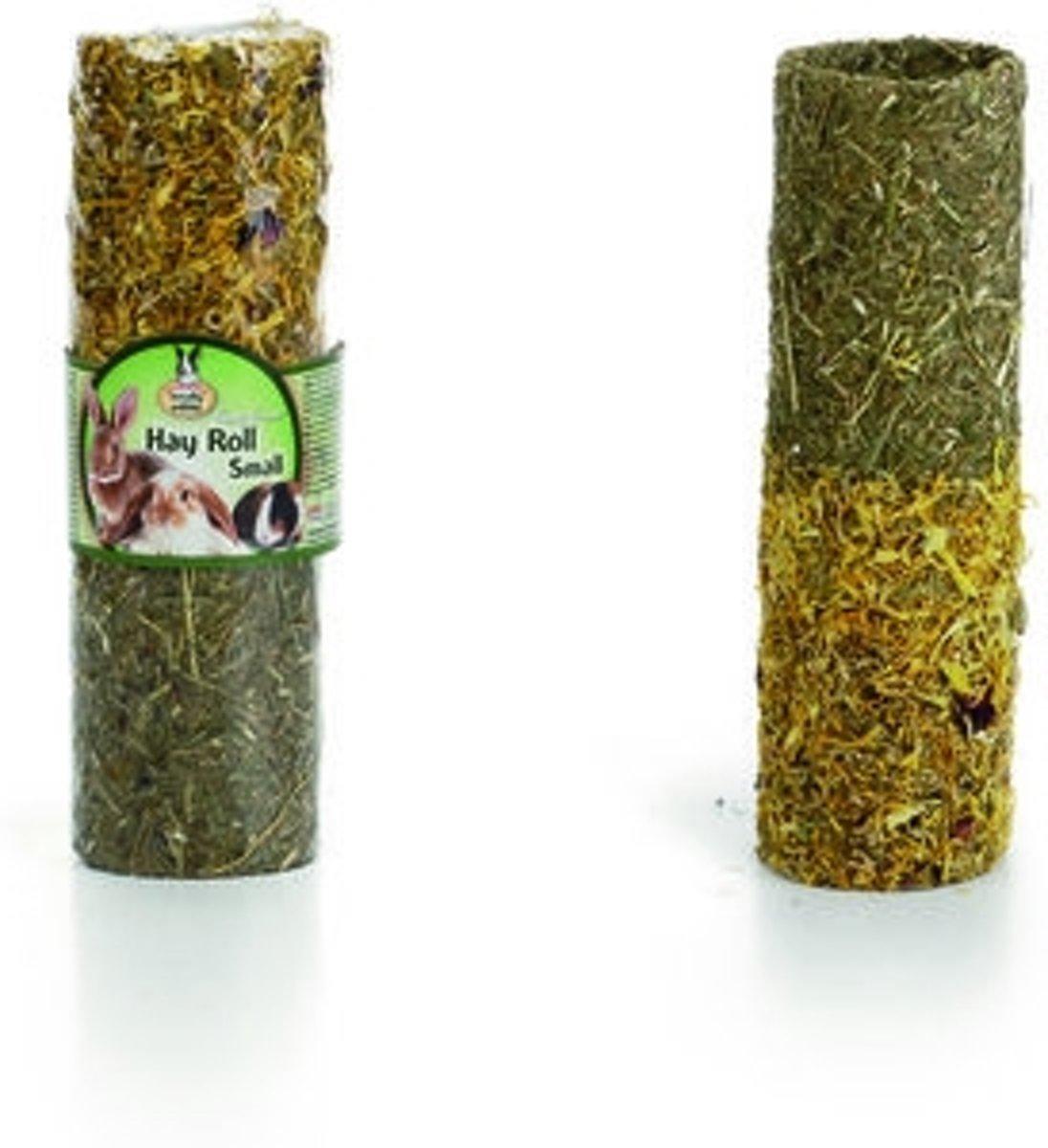 Quiko sunny gr hay roll met bloemen s