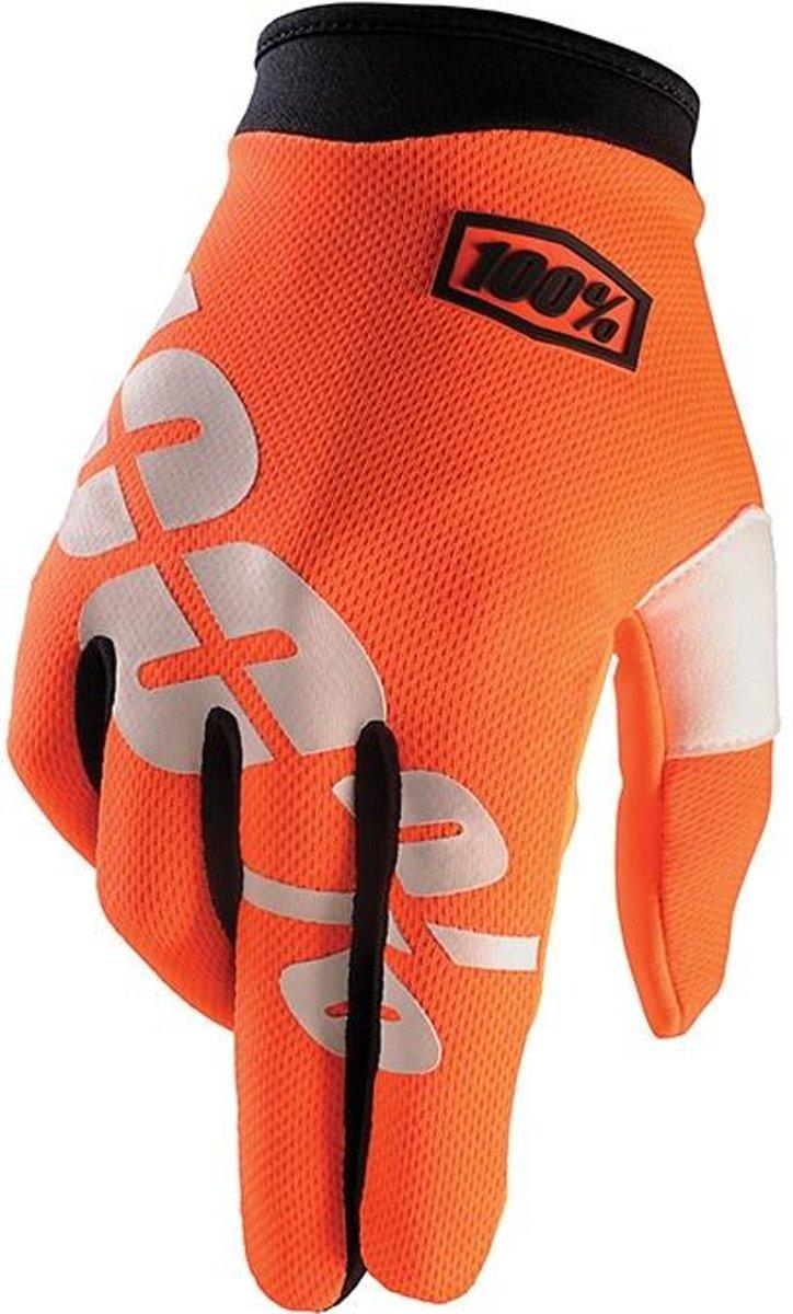 100% iTrack Cal-Trans fietshandschoenen oranje Maat XXL kopen