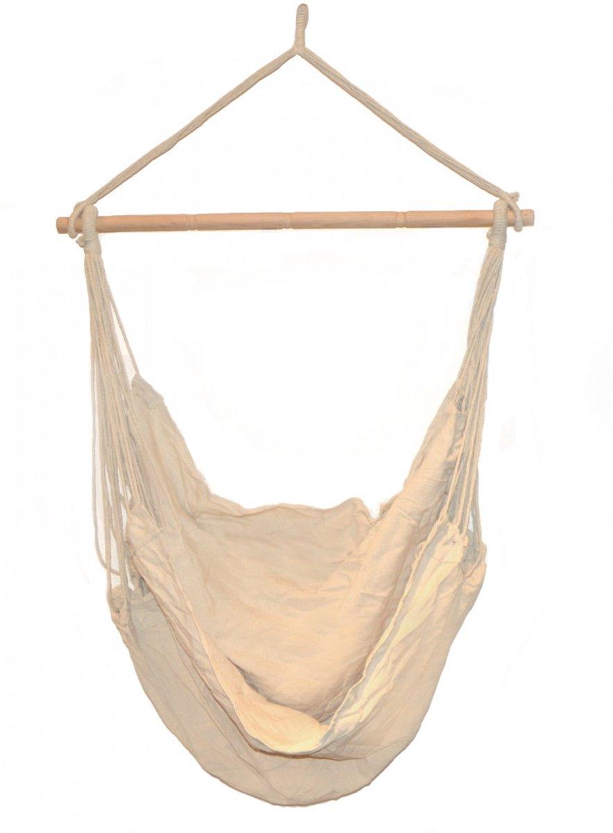 Hangende Stoel Met Standaard.Bol Com Premium Hangstoel Hangende Hangmat Stoel Zonder