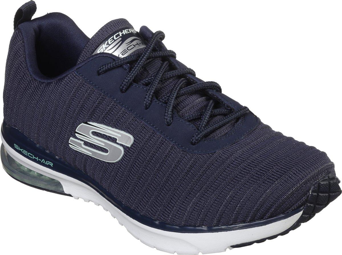 Skechers Skech Air Infinity Dames Sneakers Blauw Maat 41