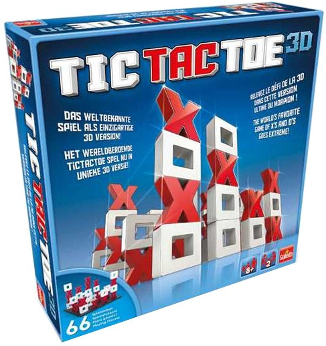 Tic Tac Toe 3D - Goliath