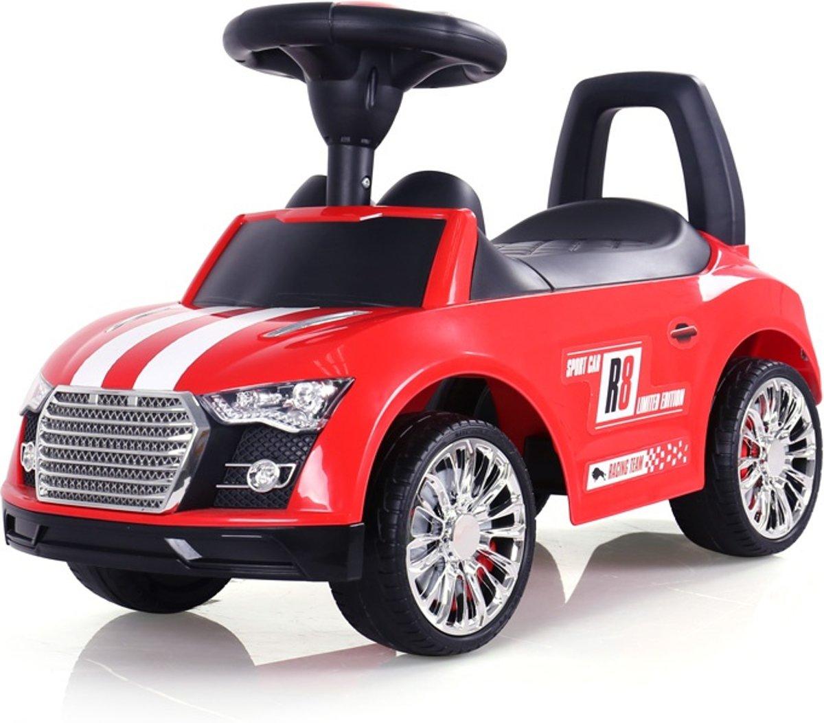 Milly Mally Loopwagen Raceauto Junior Rood