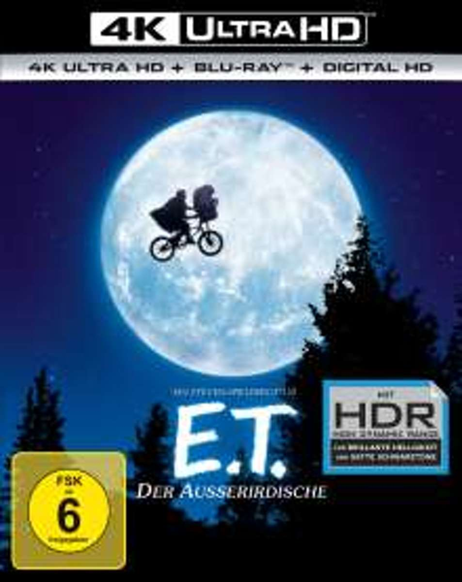 E.T. - The Extraterrestrial (1982) (Ultra HD Blu-ray & Blu-ray)-