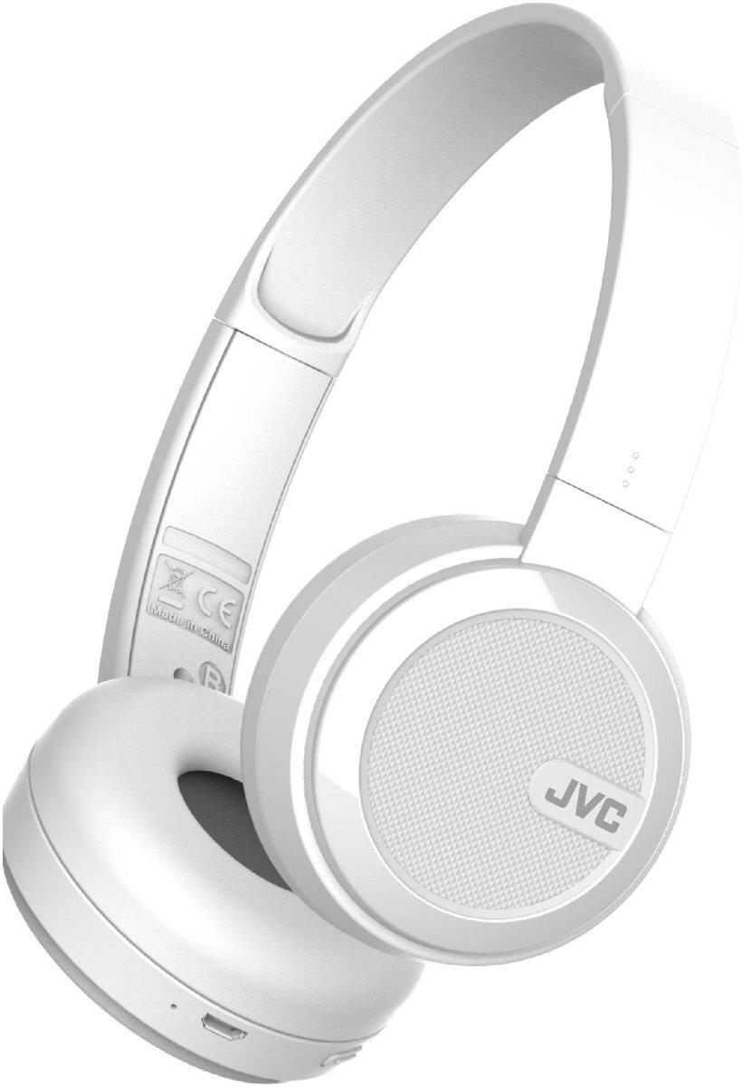 JVC HA-S40BTWE  Opvouwbare Bluetooth on-ear hoofdtelefoon kopen