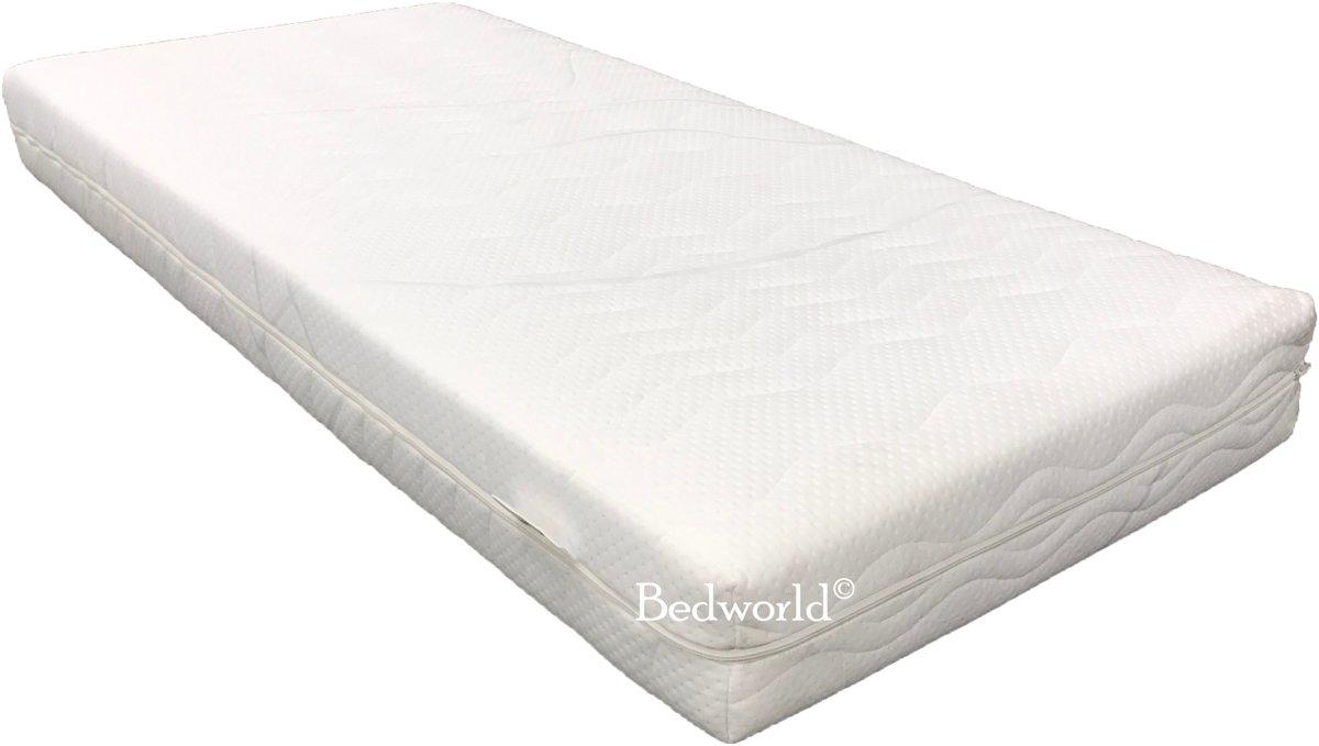 Bedworld Peuter kleuter matras Koudschuim Air HR45 - 70x160 - 16 cm matrasdikte Medium ligcomfort