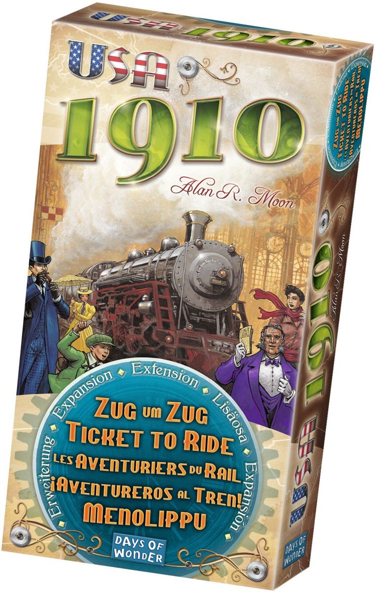 Ticket to Ride USA 1910 - Uitbreiding