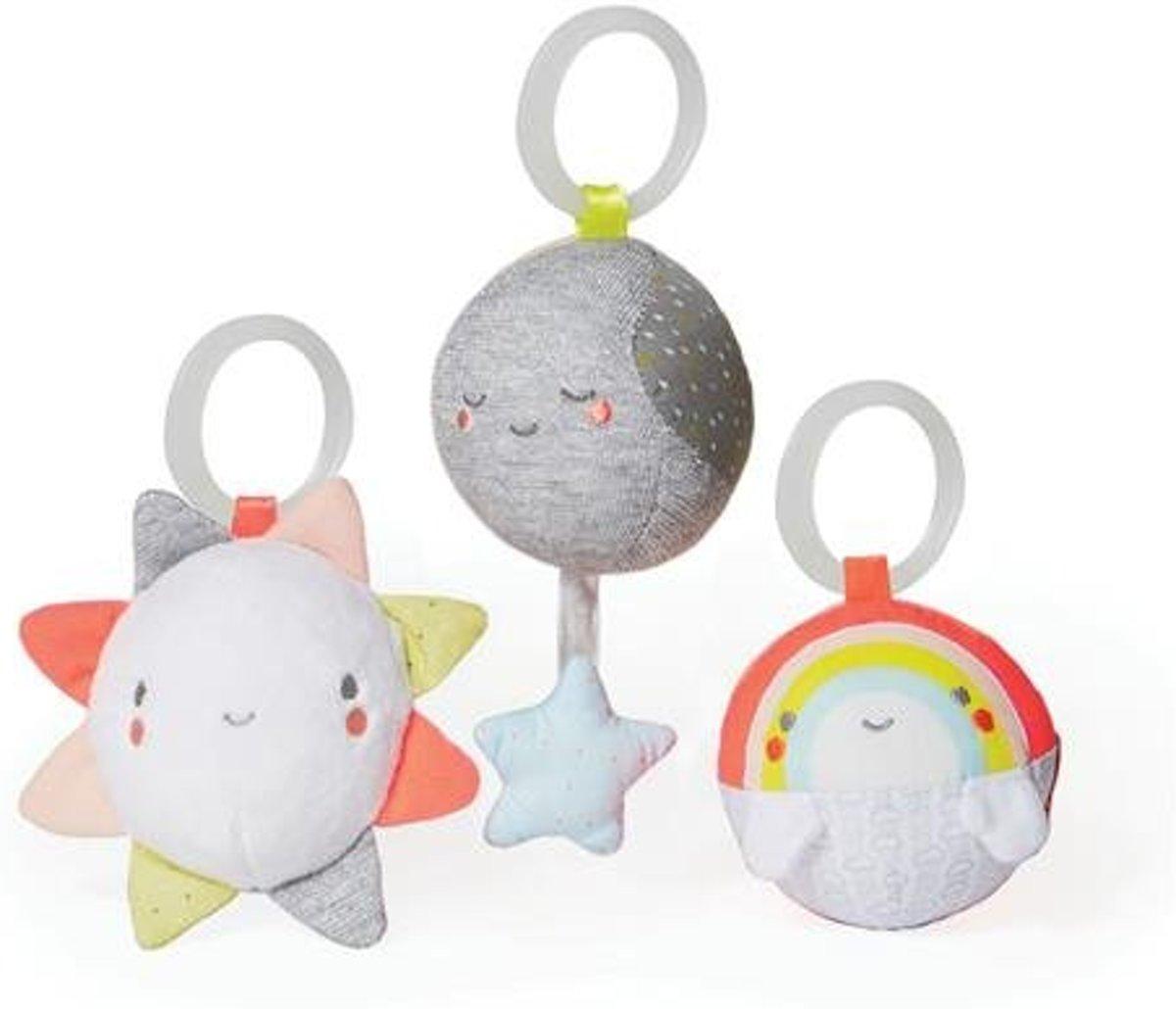 Skip Hop pluche babyspeeltje ball trio boxspeeltje ball trio