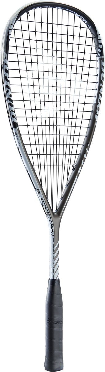 Dunlop BLACKSTORM TITANIUM 3.0 - Zwart/wit - Squashracket