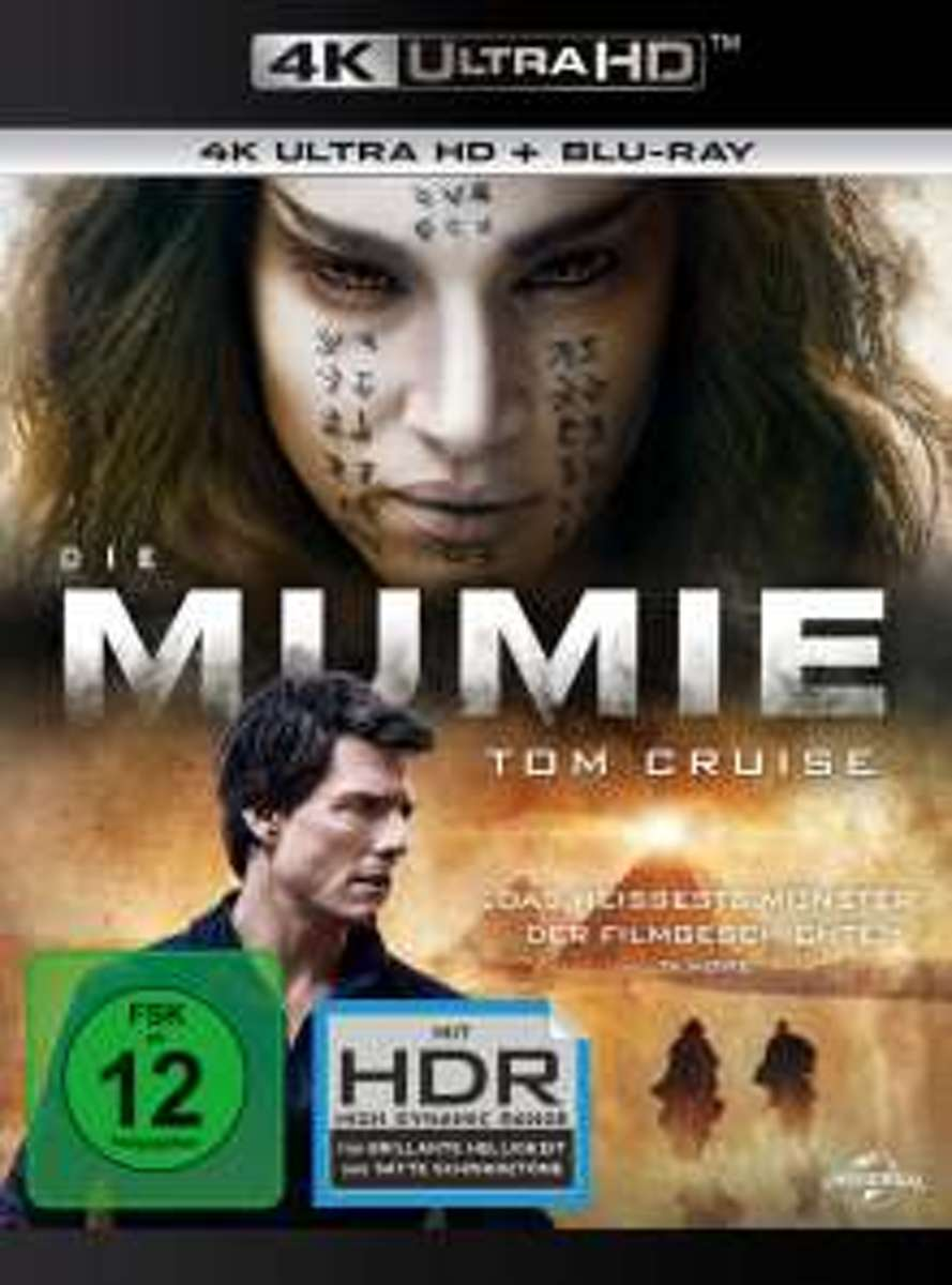 The Mummy (2017) (Ultra HD Blu-ray & Blu-ray)-