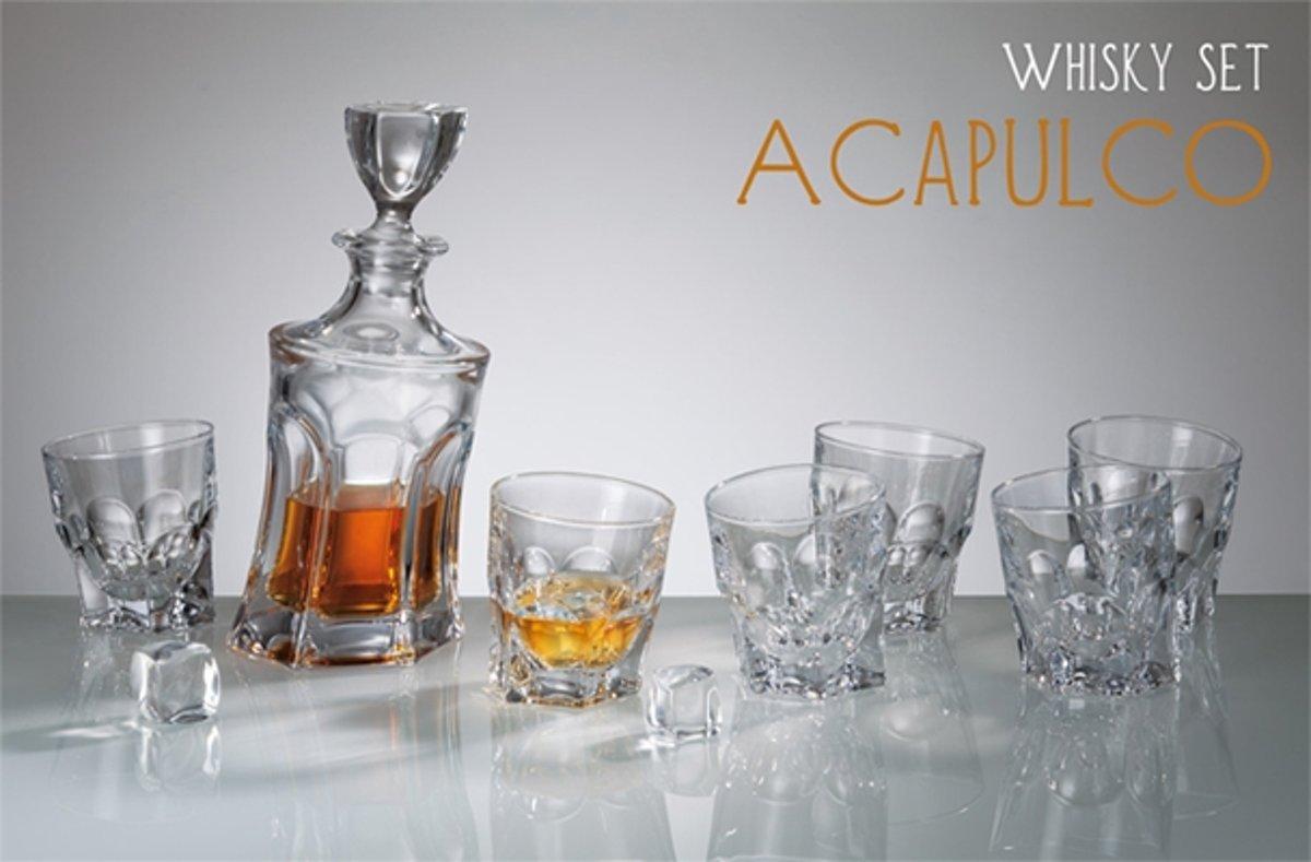 Whisky set Acapulco 1+6 kopen