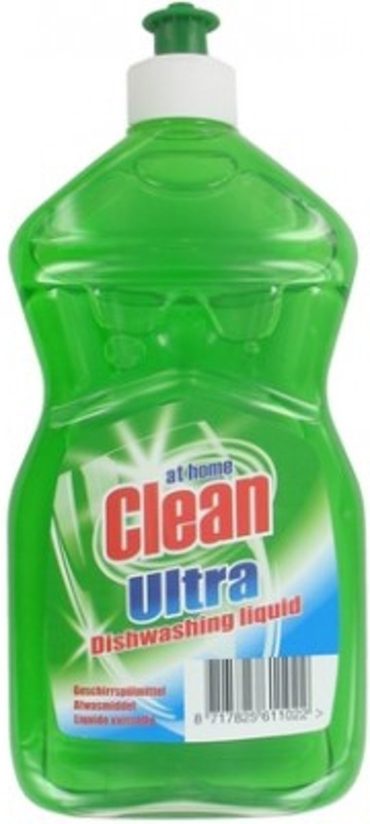 At Home Clean Ultra Afwasmiddel Regular  500 ml kopen