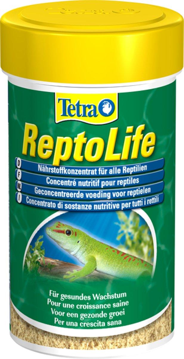Tetra Reptolife 100ml bevordert weerstand en vitaliteit door sporen en vitaminen