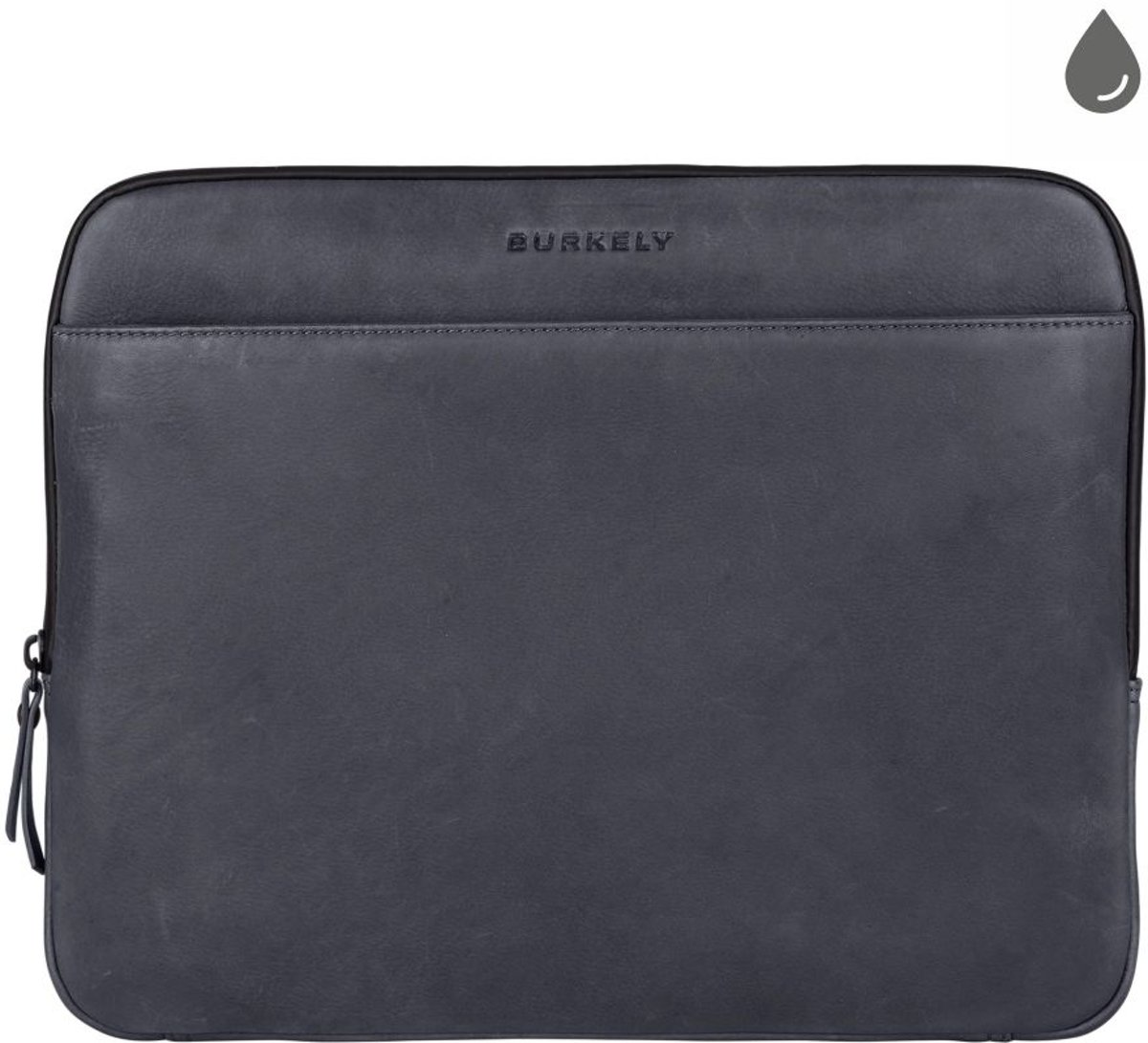 BURKELY Rain Riley Laptopsleeve 13.3 inch Clutch - Storm Blauw kopen