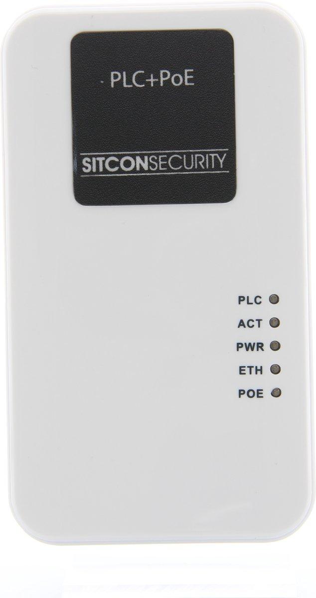 Sitcon | Powerline adapter met POE (Power over Ethernet) 500Mbs