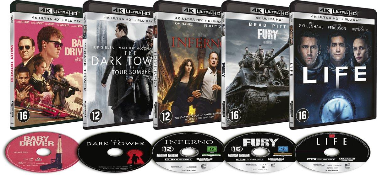 Sony Pictures - 4K UHD Blu-Ray filmbundel-