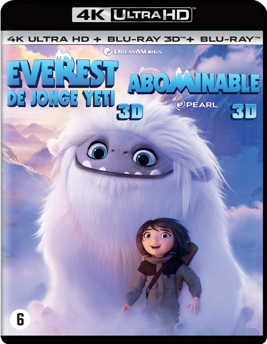 Everest: De Jonge Yeti (4K Ultra HD Blu-ray)-