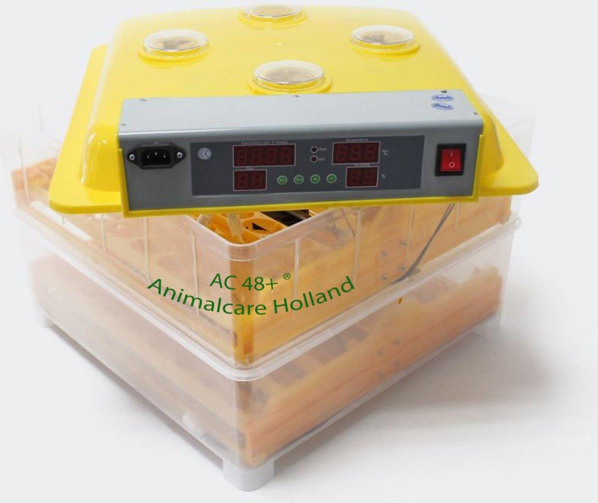 Broedmachine | 96 eieren (met hygrometer) - Model- AC 96+ ®