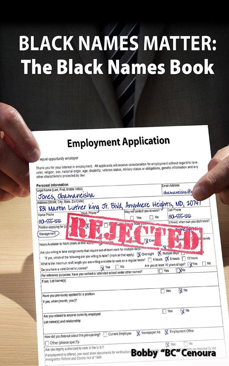 Black Names Matter