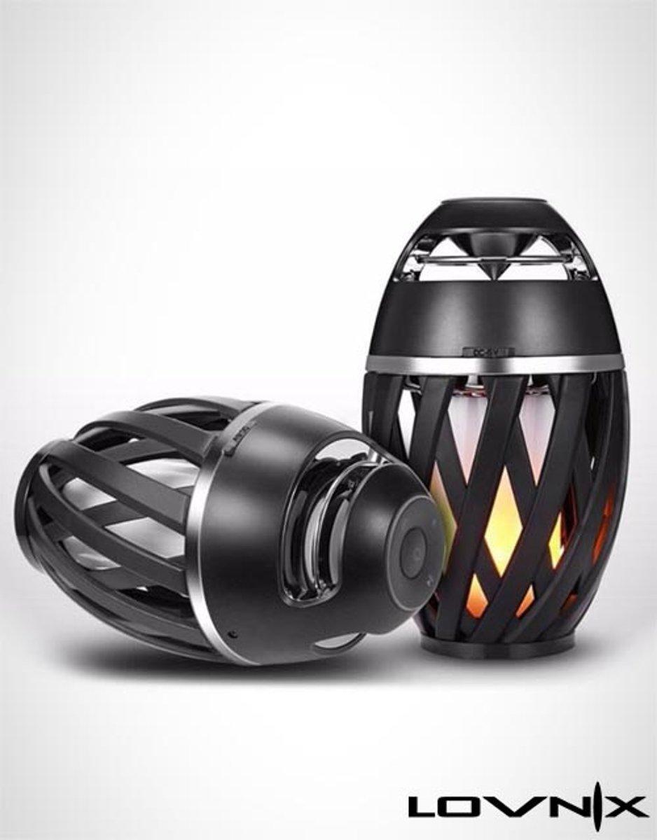 Lovnix Vulcano Bluetooth Draadloze Speaker Met Vlammen
