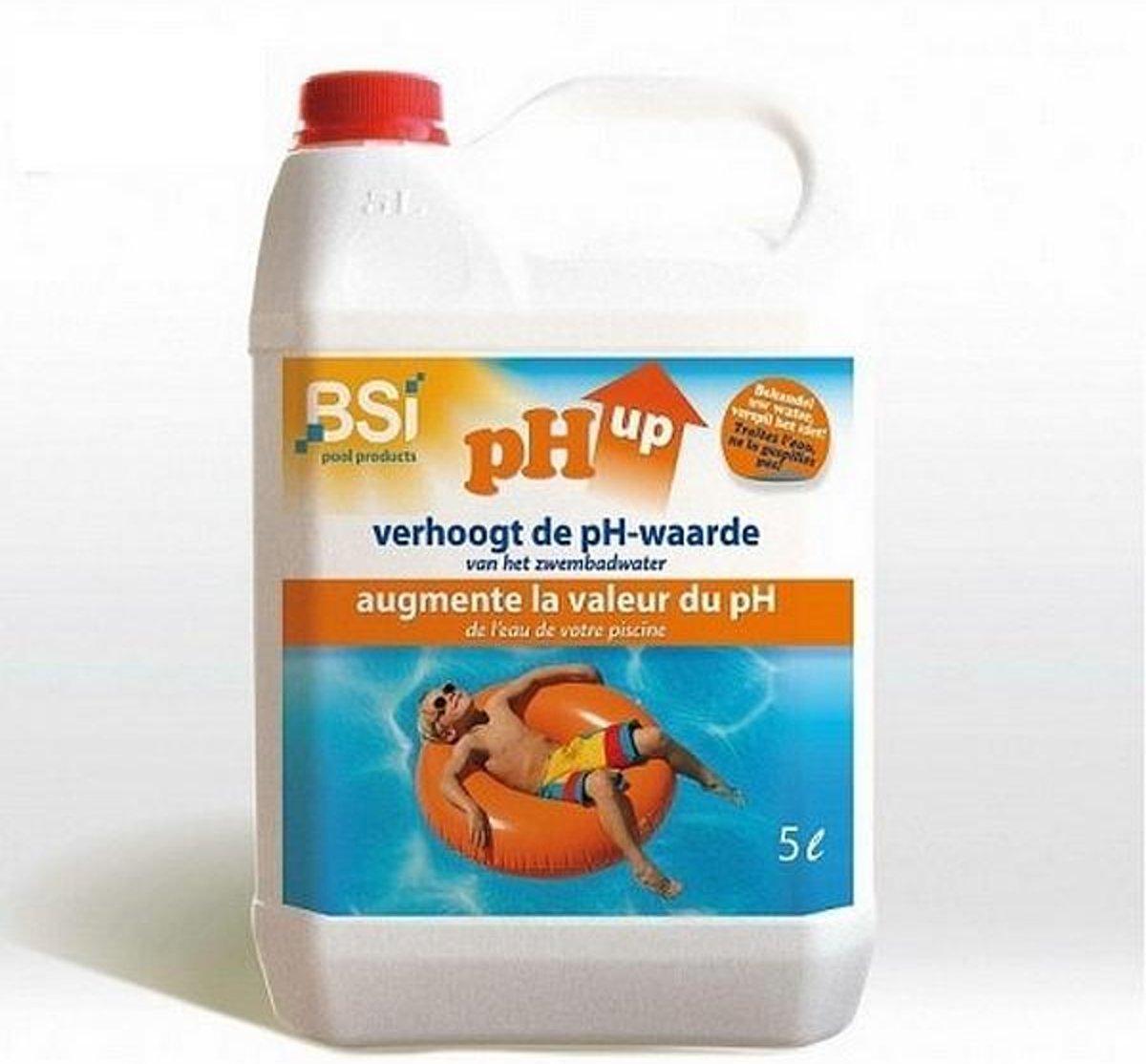 pH UP - zwembad 5 liter - set van 3 stuks
