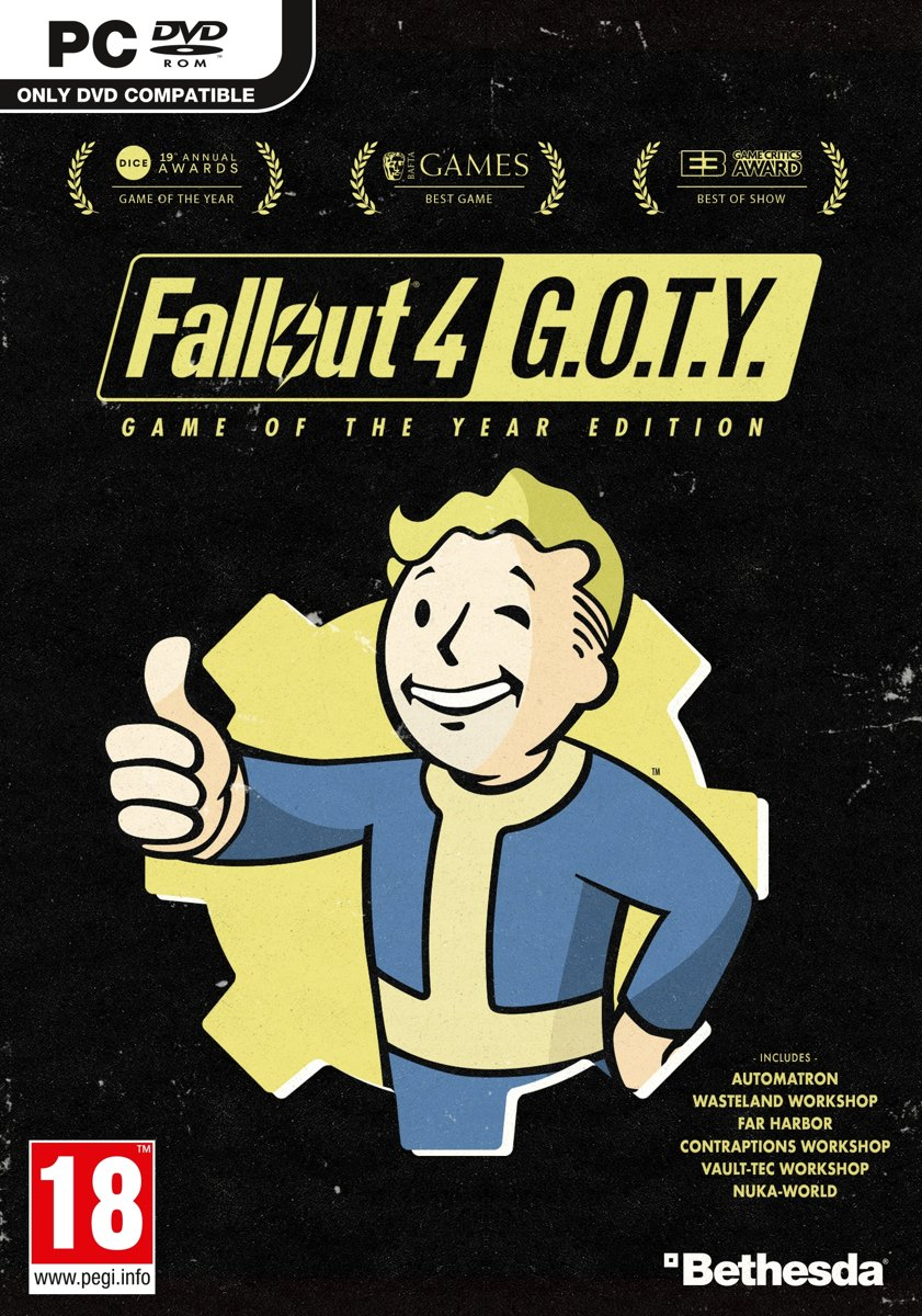 Fallout 4 - Game of the Year Editie - Windows voor €15,79