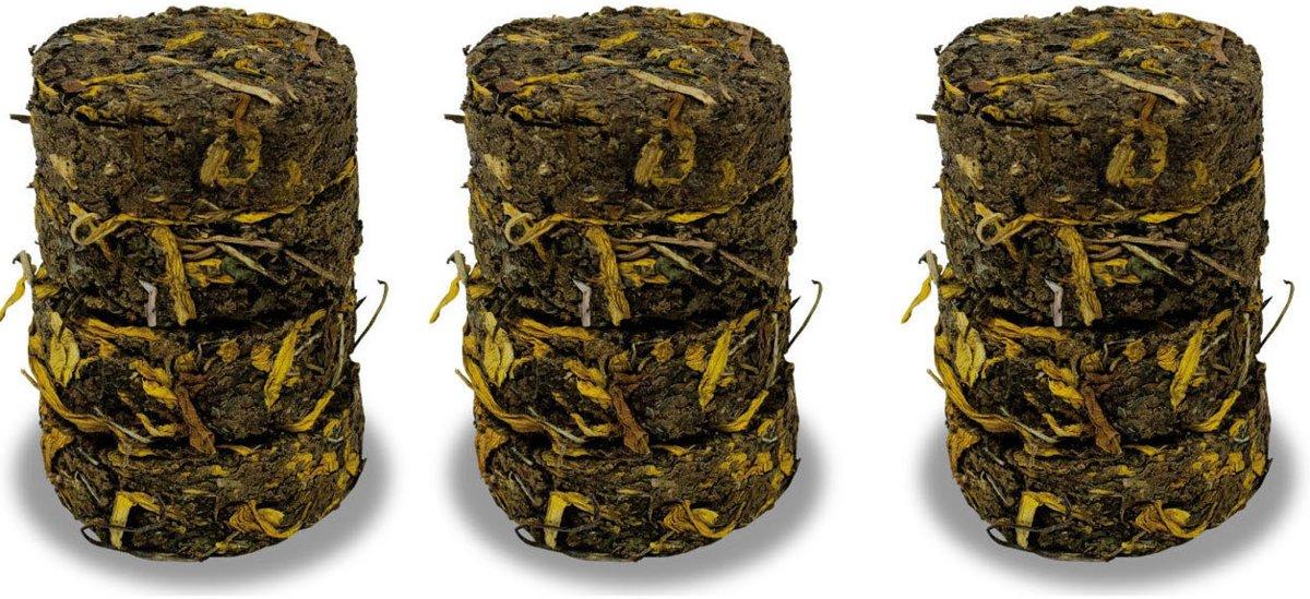 Graanvrij paardenbloem zonnebloem kruidenrol 70 gr per 3 stuks