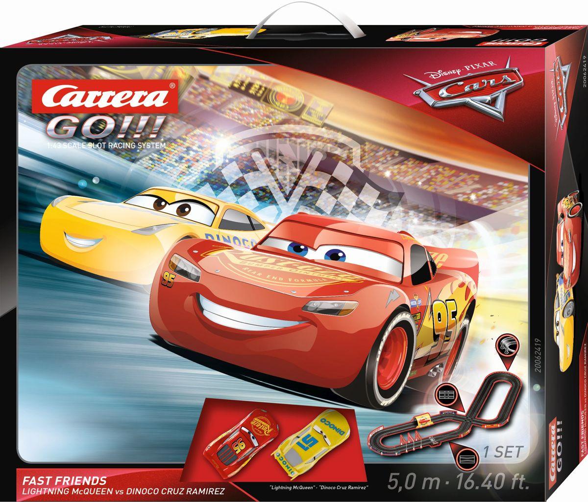 Carrera Go racebaan Disney Pixar Cars 3 - Fast Not Last