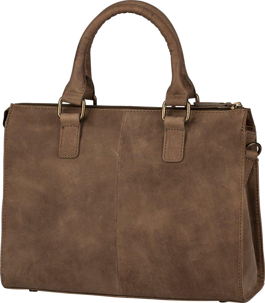 BURKELY Croco Chloe Handbag S Handtas Tundra