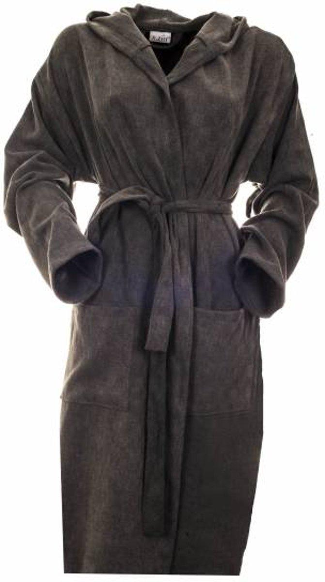 867237c10cc Sauna badjas Stone antraciet denim maat M medium - zomer badjas - dunne  badjas - ochtendjas - duster - kamerjas - TIJDELIJK IN PRIJS VERLAAGD!