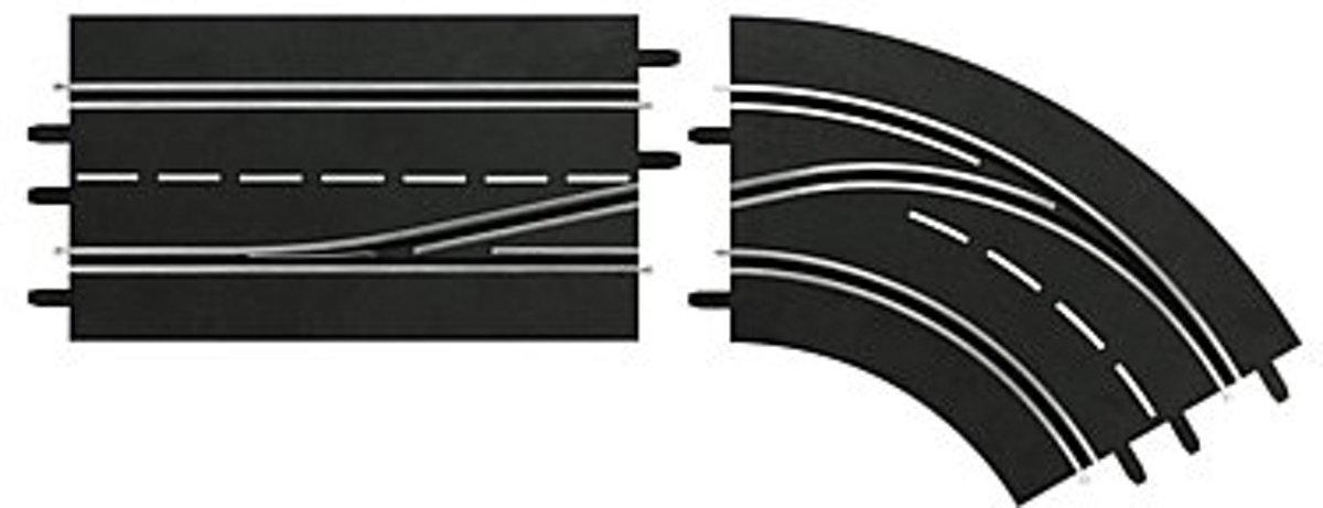 Carrera Digital 132 Baandelen - 2 Stuks