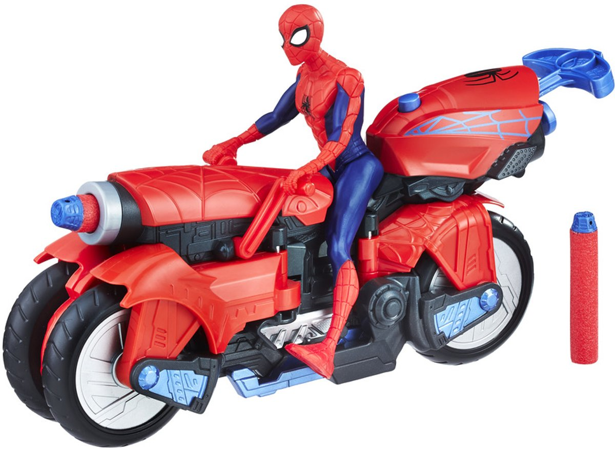 Kids n fun 28 kleurplaten van spiderman 3 - Spider man moto ...