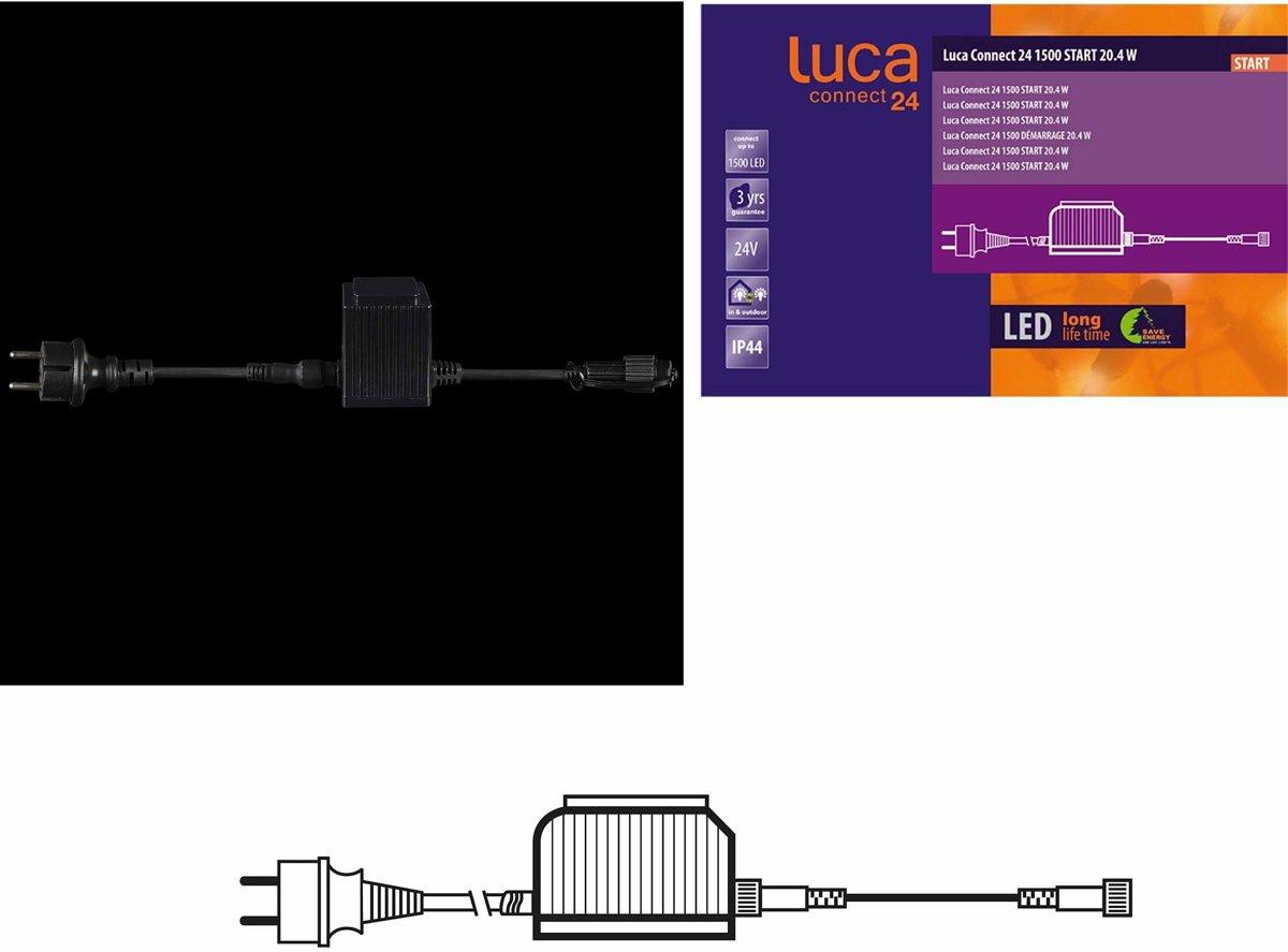LUCA Connect 24V - START Trafostekker voor 1500 lights kopen