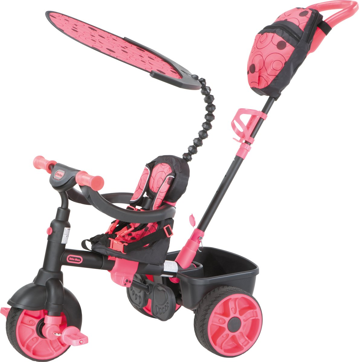 Little Tikes 4-in-1 Deluxe Editie Roze - Driewieler
