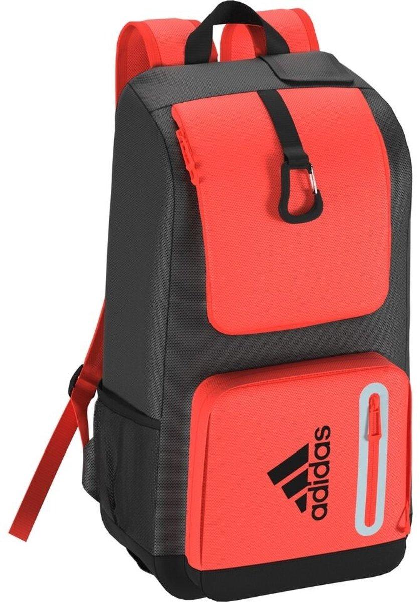 Adidas HY rugzak zwart/oranje kopen
