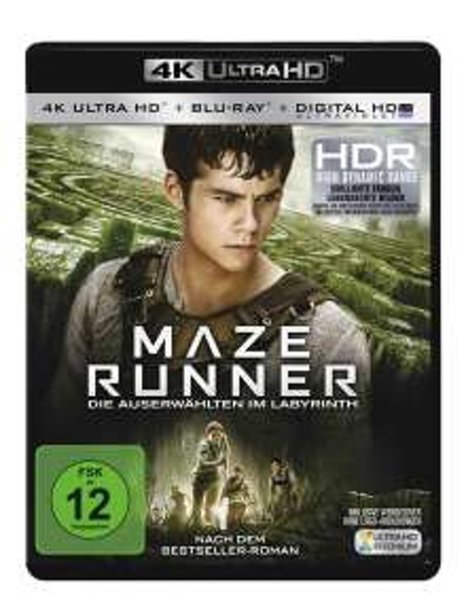 Maze Runner (Ultra HD Blu-ray & Blu-ray)-