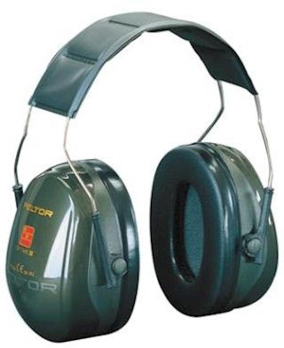 Peltor kap OPT.2 H520A groen hoofdbeugel kopen