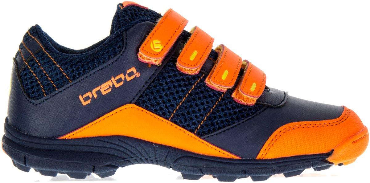 Chaussure De Hockey Reece Enfants - Unisexe - Taille 28 - Bleu Marine / Orange iBVMOf4MH