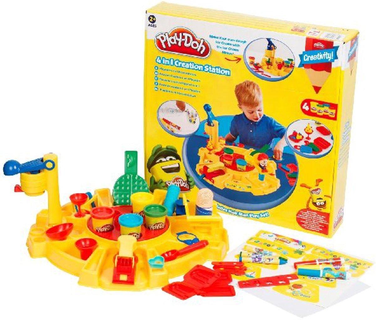 36-delige Play-Doh 4 in 1 Creëer TafelPlay-Doh