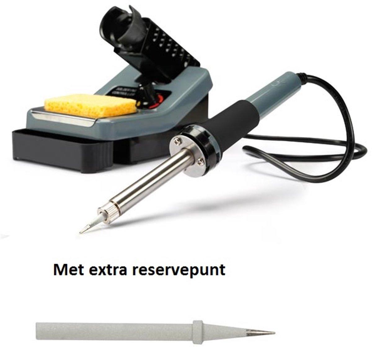 2001c9b8800 Instelbaar Soldeerstation VTSS7 48 W - 160-480 °C met extra reservepunt