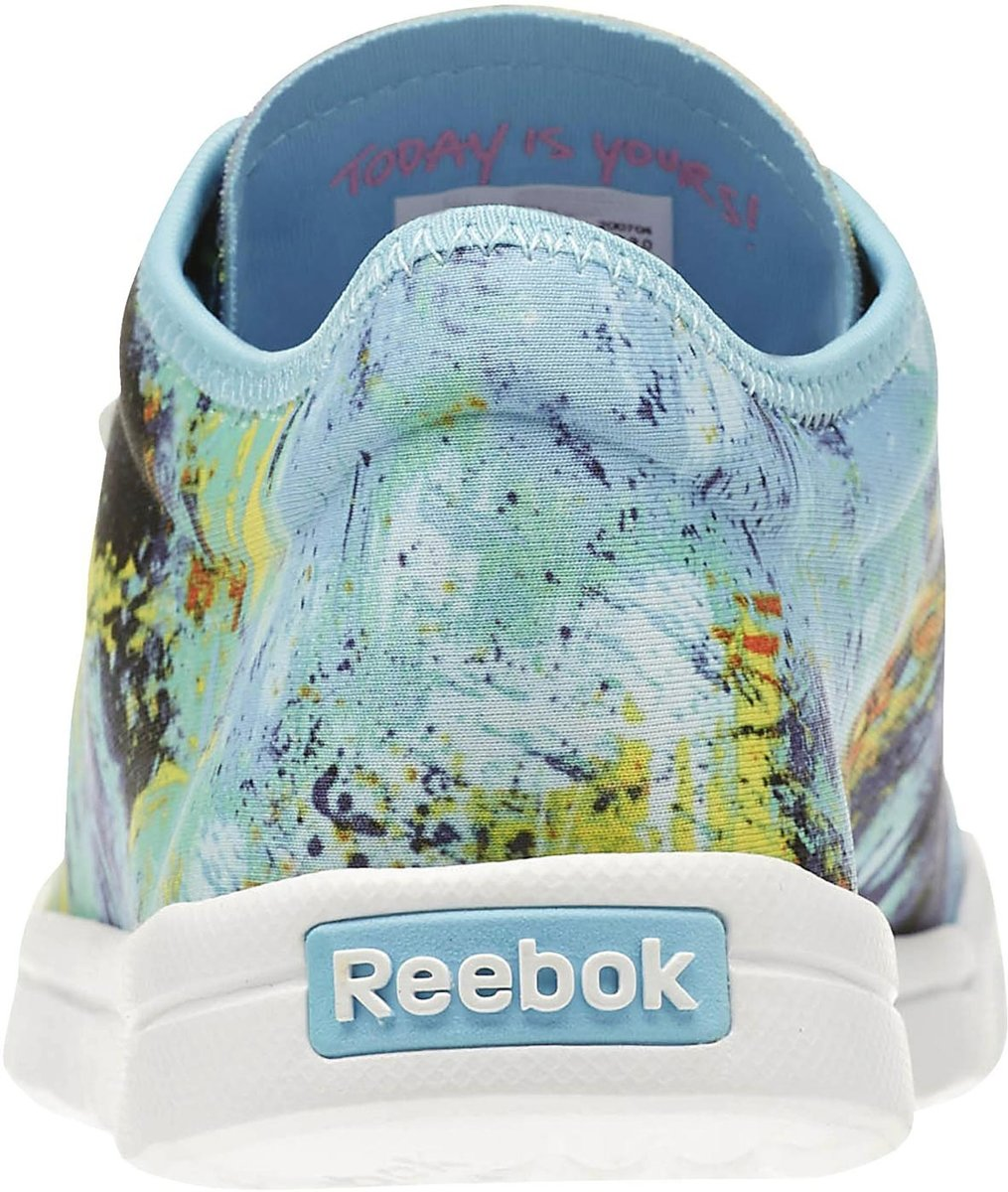 Baskets Reebok Dames Bleu Run Skyscape OqmGUdyl