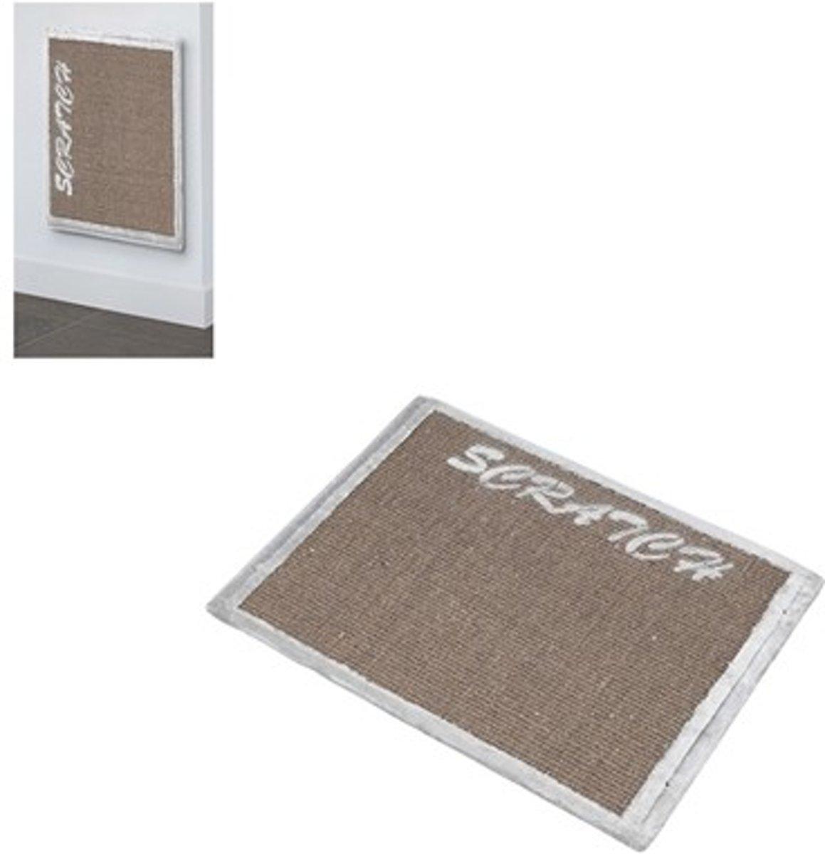 Trend rockefeller scratchboard Grijs 78x58x1,5CM