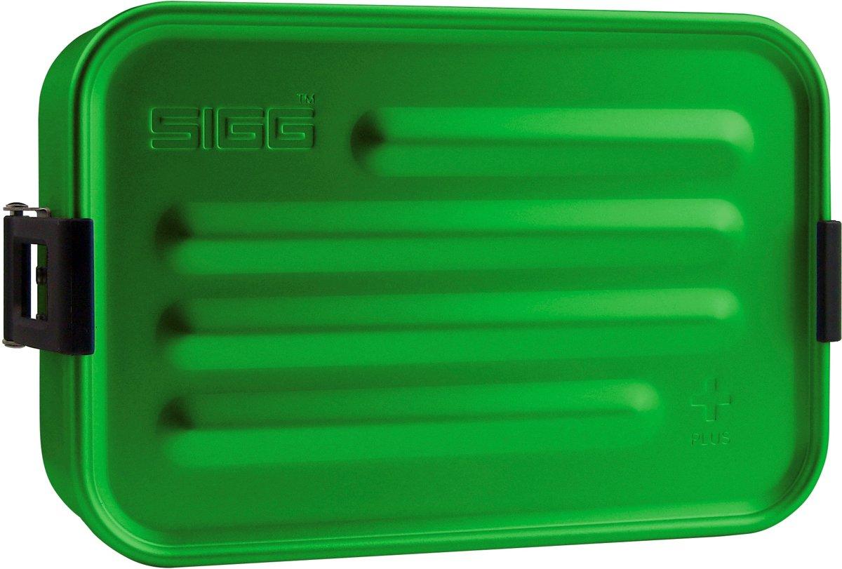 Sigg Broodtrommel Plus S Aluminium Groen 17 X 12 X 6 Cm kopen