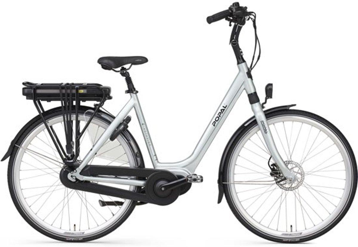 Popal E-Volution 12.1 - Elektrische fiets - 53 cm - Silver Mint